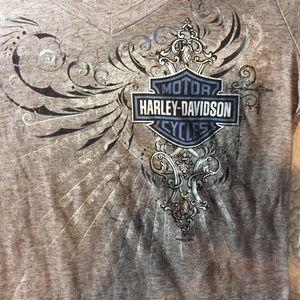 Harley-Davidson long sleeve graphic T-shirt Sz S